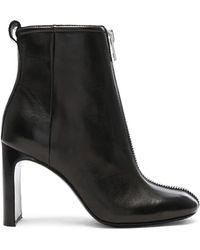 Rag & Bone - Leather Ellis Zip Boots - Lyst