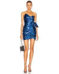 Dundas Sequin Mini Dress - Blue