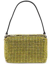 Alexander Wang Heiress Medium Pouch Bag - Yellow