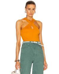 Simon Miller Keao Bodysuit - Orange