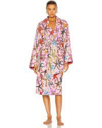 Versace Tresor De La Mer Bath Robe - Pink