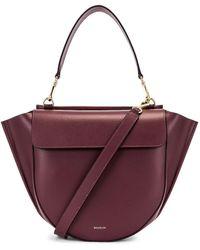 Wandler Hortensia Tote Bag - Purple