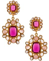 Christie Nicolaides Mirabella Earrings - Pink