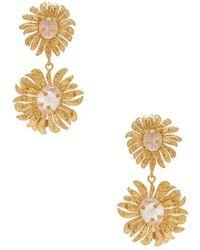 Christie Nicolaides Evelynne Earrings - Metallic