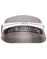 Dior Club 1 Visor - Grey