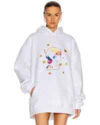 Vetements Heartbreaker Unicorn Hoodie - White