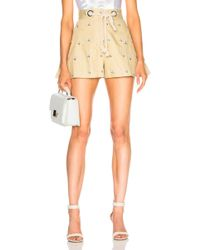 Miaou - Greta Short With Rope Belt - Lyst
