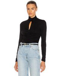 FRAME Felicity Knit Top - Black