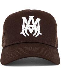 Amiri MA Trucker Hat - Braun