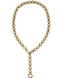 Laura Lombardi Franca Chain Necklace - Mettallic