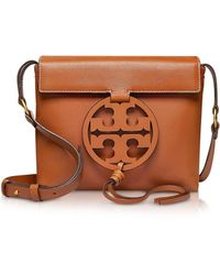 Tory Burch - Genuine Leather Miller Cross-body Bag - Lyst