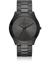 Michael Kors MK8507 Slim runway Men's Watch - Negro