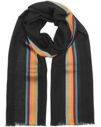 Paul Smith Artist Central Stripe Echarpe pour Homme - Noir
