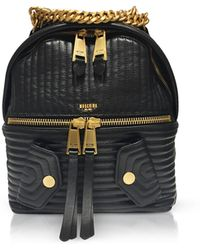 Moschino - Quilted Chain-trim Backpack - Lyst