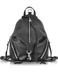 Rebecca Minkoff - Julian Black Leather Small Backpack - Lyst