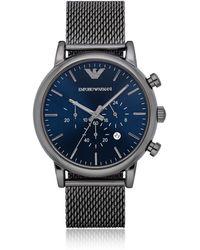 Emporio Armani - Ar1979 Luigi Men's Watch - Lyst