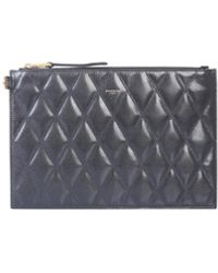 Givenchy Quilted Clutch - Schwarz