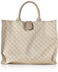Gherardini - Clay Signature Fabric Softy Foldable Shopper Bag - Lyst