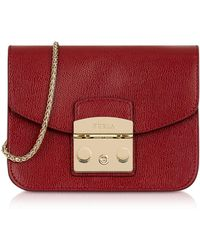 Furla - Cross Body Bag In Red - Lyst