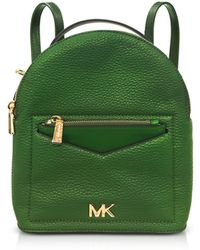 Michael Kors - Jessa Small Pebbled Leather Convertible Backpack - Lyst