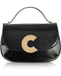 Coccinelle - Craquante Patent Maxi Leather Satchel Bag - Lyst