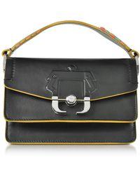 Paula Cademartori - Twi Twi Black Leather Shoulder Bag - Lyst