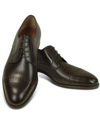 Wilson Black Leather Oxford Shoes