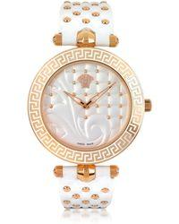 Versace Vanitas White Women's Watch - Weiß