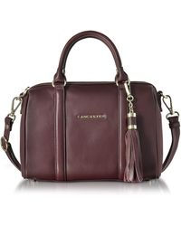 Lancaster Paris - Mademoiselle Ana Grained Leather Small Duffle Bag - Lyst