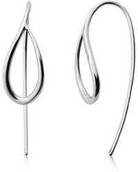 Skagen - Kariana Silver-tone Earrings - Lyst