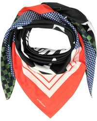 Givenchy - Patchwork And Signature Printed Cotton And Silk Wrap - Lyst