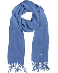 Mila Schon   Light Blue Wool And Cashmere Stole   Lyst