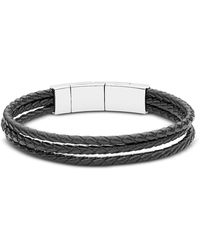 Fossil - Jf02682040 Vintage Casual Men's Bracelet - Lyst