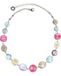Antica Murrina - Florinda Transparent Murano Glass Beads Necklace - Lyst