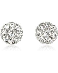Fossil Vintage Glitz Silvertone Women's Earrings - Mettallic
