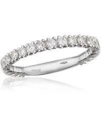 FORZIERI - 0.74 Ct Diamond 18k Gold Eternity Band - Lyst