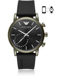 Emporio Armani - Art3016 Luigi Men's Smartwatch - Lyst