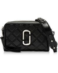 Marc Jacobs Matelasse Softshot 21 Crossbody Bag - Black