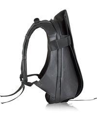 Côte&Ciel Isar Medium Rucksack aus beschichtetem Canvas - Schwarz