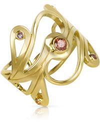 Sho London Gold Gold Ring - Metallic