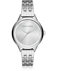 Armani Exchange - Aix Stainless Steel Women's Watch - Lyst