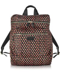 Paul Smith - Men's Strawberry Skull Print Nylon Rucksack - Lyst