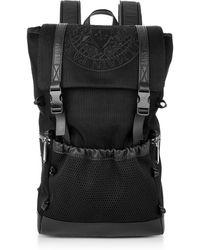 Balmain Black Nylon Men's Climb Backpack - Noir