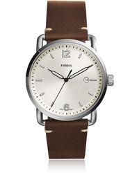 Fossil - Fs5275 The Commuter 3h Date Men's Watch - Lyst