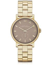 Marc By Marc Jacobs - Baker Bracelet 36mm Gold Ip Women's Watch - Lyst