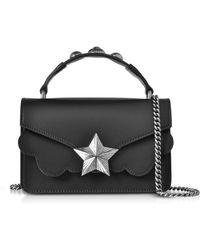 Les Jeunes Etoiles - Black Leather Vega Mini Shoulder Bag - Lyst