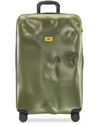 Crash Baggage Icon großer Trolley - Grün