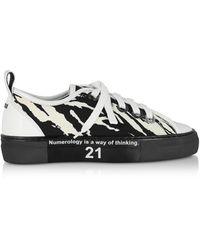N°21 Zebra Gymnic Women's Trainers - Black