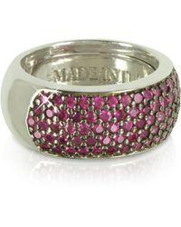 Azhar Ring aus Sterlingsilber - Mettallic