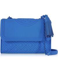 20dfce142b27 Tory Burch - Fleming Matte Small Convertible Shoulder Bag - Lyst